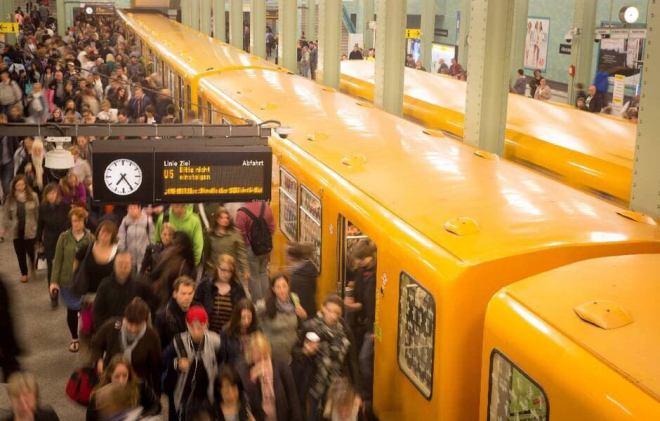 Берлин, метро