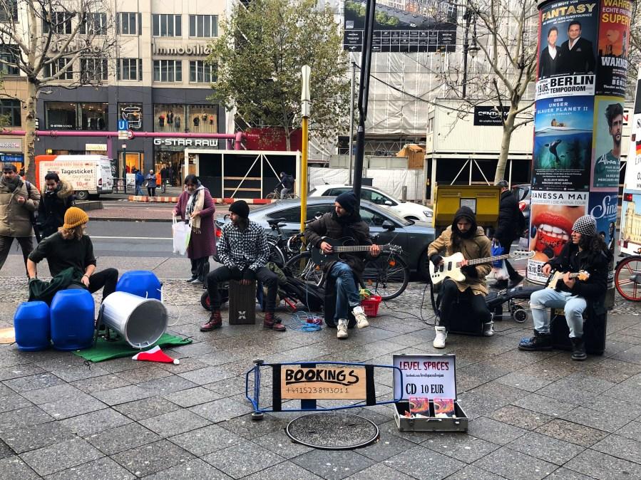 Берлин, уличные музыканты