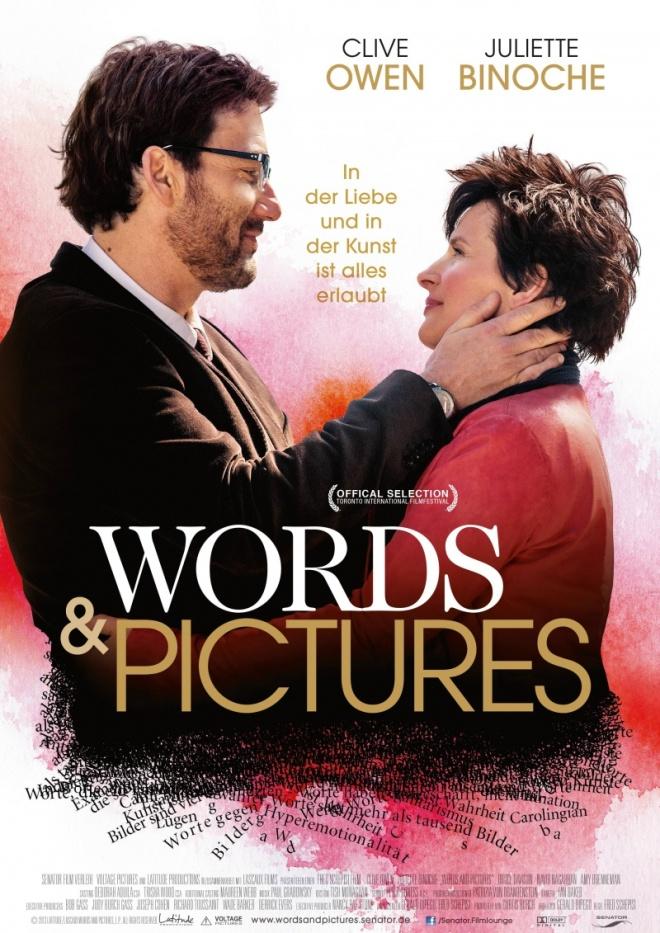 Любовь в словах и картинах, фильм